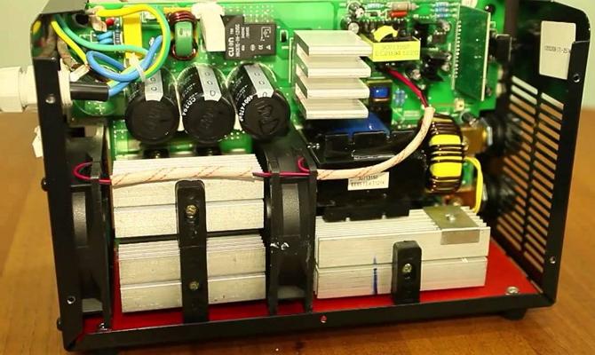 Выход из строя компонентов электроники сварочного аппарата
