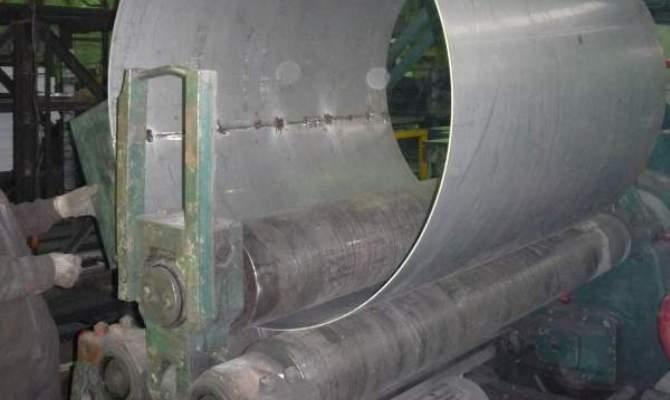 Вальцевание металлической заготовки