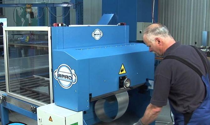 Автоматическое оборудование для вальцевания металла