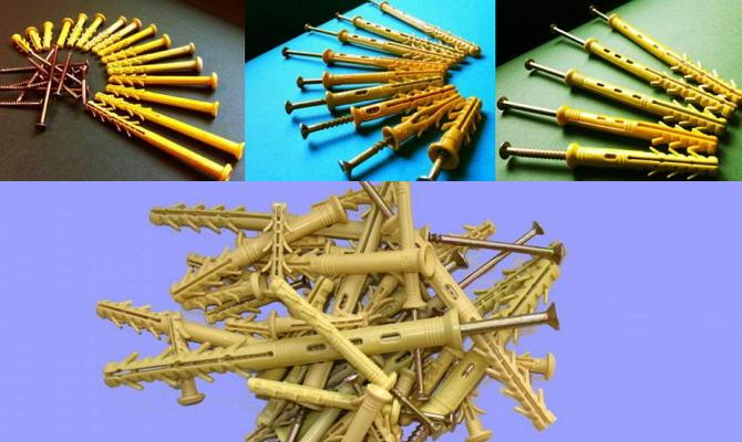 Дюбель-гвозди для различных материалов