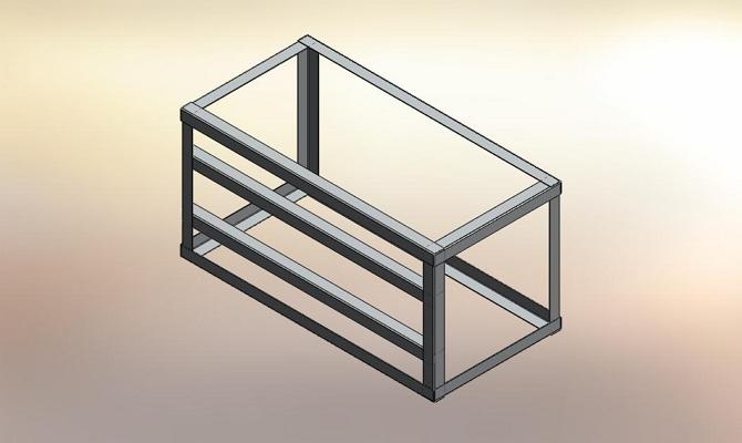 Применение уголка при монтаже металлической конструкции