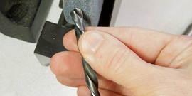 Как выполнить заточку сверла по металлу?