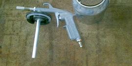 Как сделать пескоструйный пистолет?