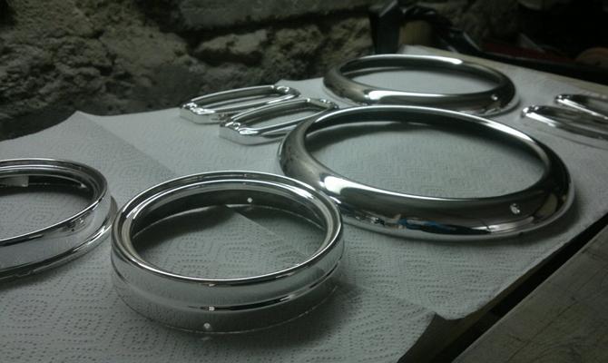 Самостоятельная металлизация хромом