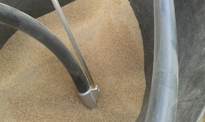 Специальный песок для пескоструйных работ