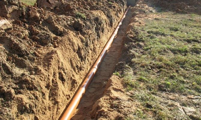 Влияние угла наклона на работу безнапорной канализационной системы