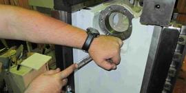 Слесарный инструмент шабер - тонкая работа по металлу!