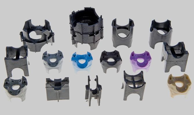 Разновидности типовых пластиковых фиксаторов