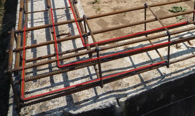 анкеровка бетон
