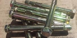Анкерный болт с гайкой – испытанный вариант крепежа