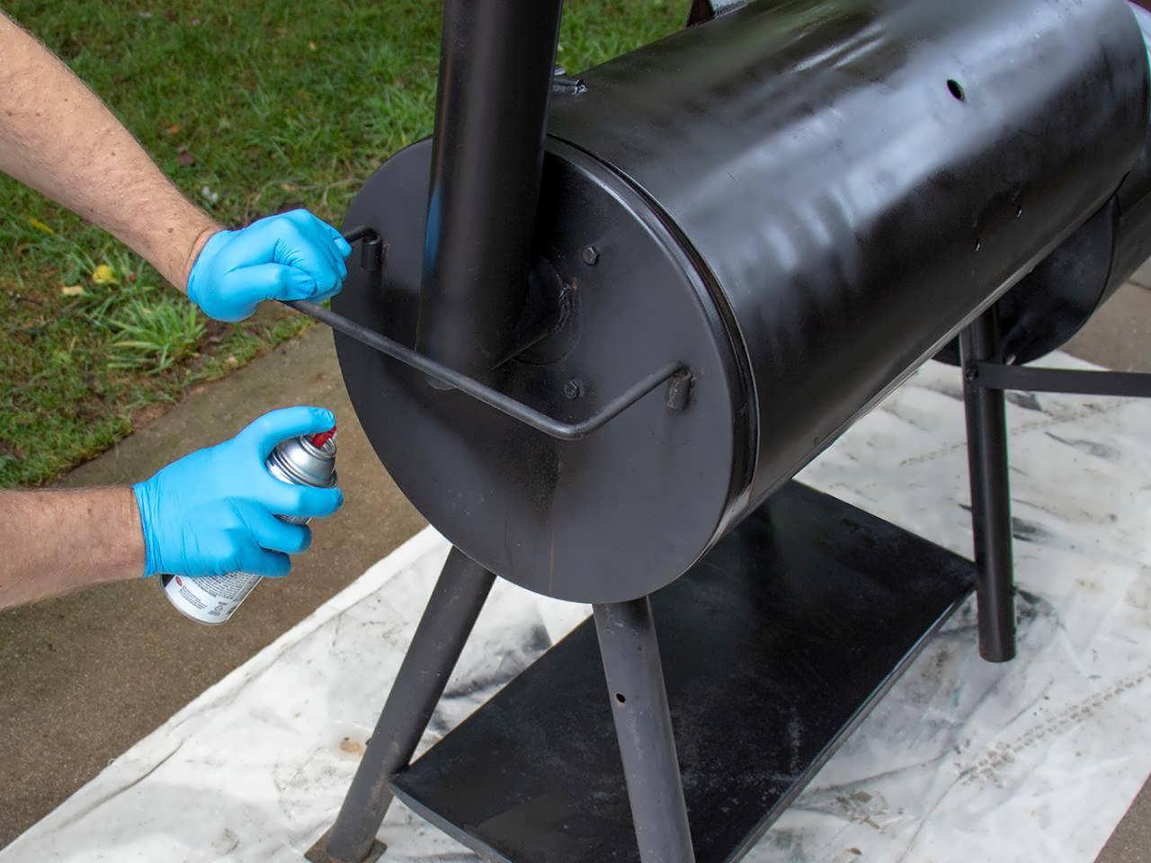 Термостойкая краска для мангала