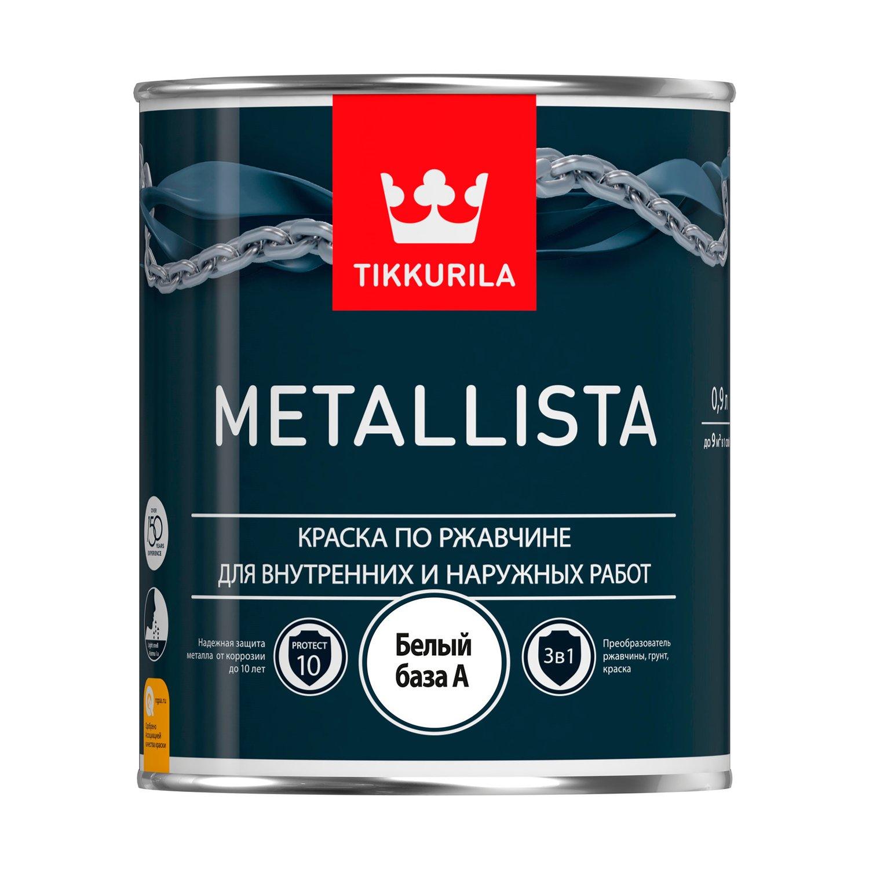 Краска по металлу Тиккурила
