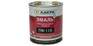 Расход краски ПФ 115 на 1м2 по металлу: как рассчитывается