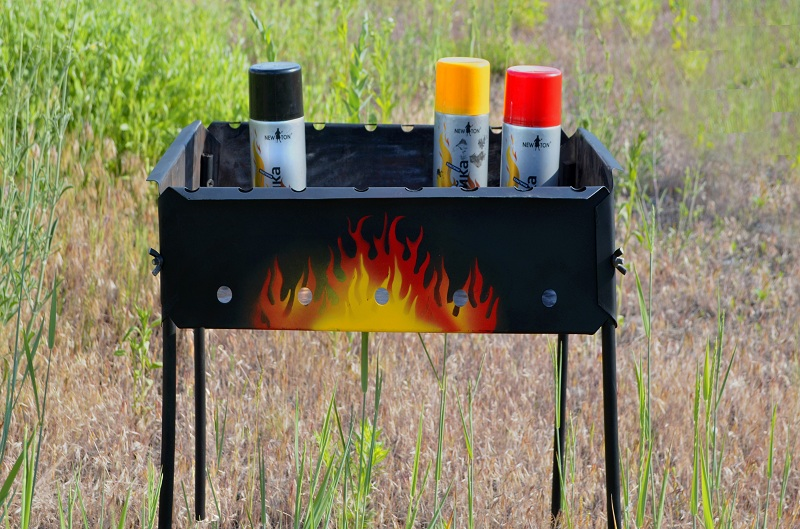 Что такое термостойкая краска по металлу?