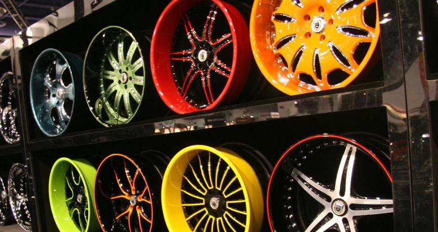 Самостоятельная покраска дисков